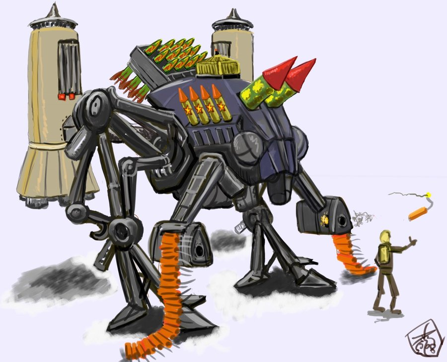 New_year__s_eve_mecha_by_Crowsrock