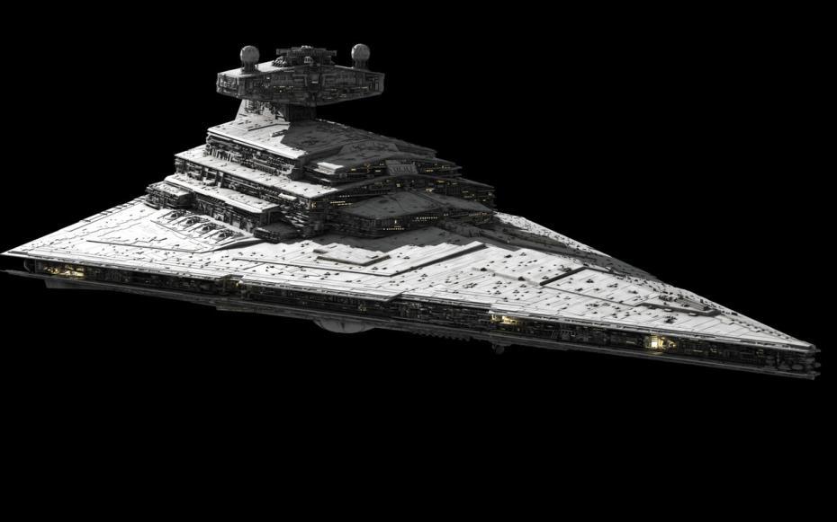 Star wars 7 le nom du destroyer stellaire cyber mecha - Vaisseau spatial star wars ...