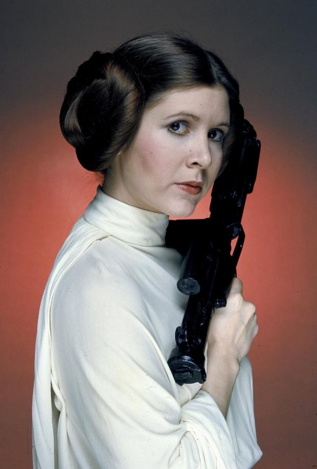 La princesse Leia nous a quittés Leia